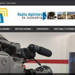 Radio Agüimes y Tele Agüimes crean su primera web